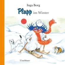 Inga Borg: Plupp im Winter, Buch