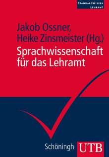 Sprachwissenschaft für das Lehramt, Buch