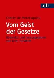 Charles de Montesquieu: Vom Geist der Gesetze, Buch