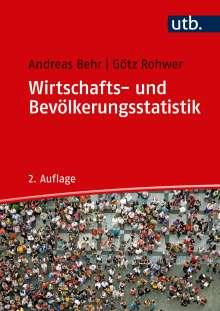 Andreas Behr: Wirtschafts- und Bevölkerungsstatistik, Buch
