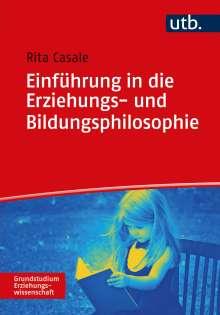 Rita Casale: Einführung in die Erziehungs- und Bildungsphilosophie, Buch