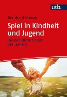 Bernhard Hauser: Spiel in Kindheit und Jugend, Buch