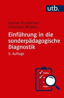 Konrad Bundschuh: Einführung in die sonderpädagogische Diagnostik, Buch