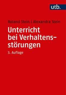Roland Stein: Unterricht bei Verhaltensstörungen, Buch