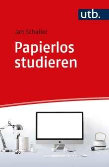 Jan Schaller: Papierlos studieren, Buch
