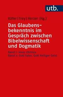 Das Glaubensbekenntnis im Gespräch zwischen Bibelwissenschaft und Dogmatik, Buch