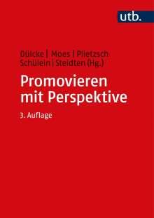 Promovieren mit Perspektive, Buch