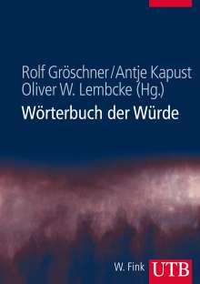 Wörterbuch der Würde, Buch