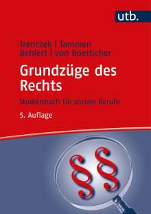 Thomas Trenczek: Grundzüge des Rechts, Buch
