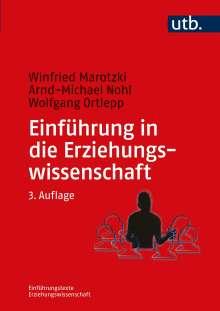 Winfried Marotzki: Einführung in die Erziehungswissenschaft, Buch
