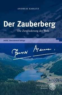 Andreas Kablitz: Der Zauberberg, Buch