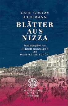 Carl Gustav Jochmann: Blätter aus Nizza, Buch