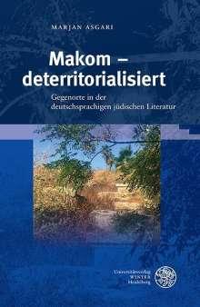 Marjan Asgari: Makom - deterritorialisiert, Buch