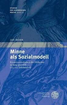 Jan Mohr: Minne als Sozialmodell, Buch