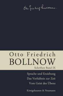 Otto Friedrich Bollnow: Schriften, Buch