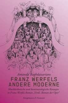 Amanda Baghdassarians: Franz Werfels andere Moderne, Buch