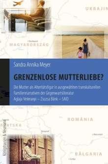 Sandra Annika Meyer: Grenzenlose Mutterliebe?, Buch