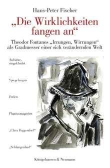 """Hans-Peter Fischer: """"Die Wirklichkeiten fangen an"""", Buch"""
