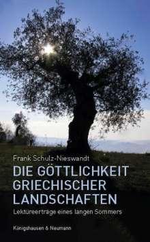 Frank Schulz-Nieswandt: Die Göttlichkeit griechischer Landschaften, Buch