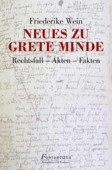 Friederike Wein: Neues zu Grete Minde, Buch
