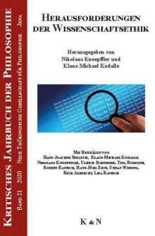 Herausforderungen der Wissenschaftsethik, Buch
