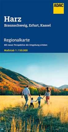 ADAC Regionalkarte Blatt 8 Harz 1:150 000, Diverse