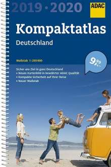 ADAC Kompaktatlas Deutschland 2019/2020 1:250 000, Buch
