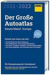 ADAC Der Große AutoAtlas 2021/2021 1:300 000 - Deutschland, Österreich, Buch