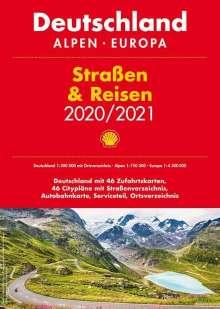 Shell Straßen & Reisen 2020/21 Deutschland 1:300.000, Alpen, Europa, Buch