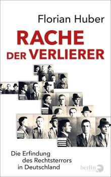 Florian Huber: Rache der Verlierer, Buch