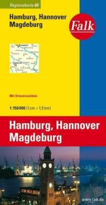 Falk Plan Hamburg, Hannover, Magdeburg, Diverse