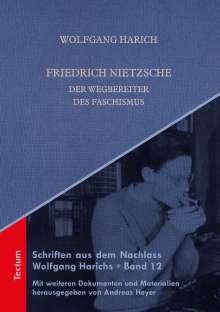 Wolfgang Harich: Friedrich Nietzsche, Buch