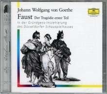 Johann Wolfgang von Goethe: Faust. Der Tragödie erster Teil, 2 CDs