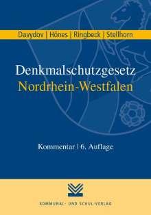 Dimitrij Davydov: Denkmalschutzgesetz Nordrhein-Westfalen, Buch