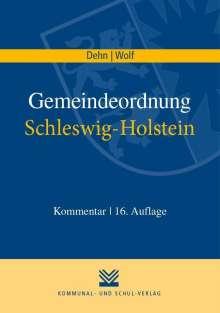 Klaus D Dehn: Gemeindeordnung Schleswig-Holstein, Buch