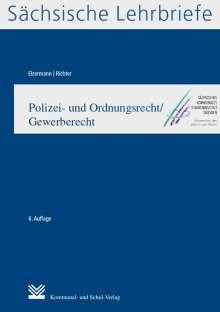 Hartwig Elzermann: Polizei- und Ordnungsrecht/Gewerberecht (SL 9), Buch