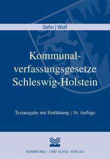 Kommunalverfassungsgesetze Schleswig-Holstein, Buch