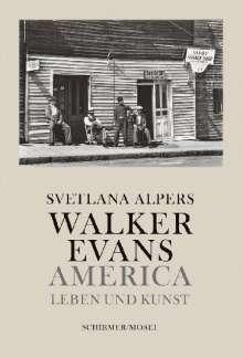 Svetlana Alpers: Walker Evans, Buch