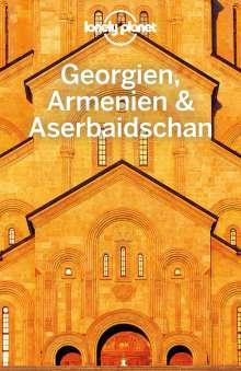 Tom Masters: Lonely Planet Reiseführer Georgien, Armenien, Aserbaidschan, Buch