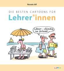 Renate Alf: Die besten Cartoons für Lehrer*innen, Buch