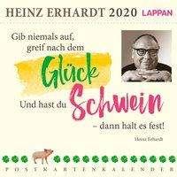Heinz Erhardt Gib Niemals Auf Greif Nach Dem Glück 2020 Ein Heinz Erhardt Postkartenkalender