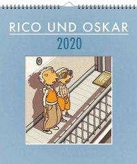 Andreas Steinhöfel: Rico und Oskar 2020 - Wandkalender, Diverse