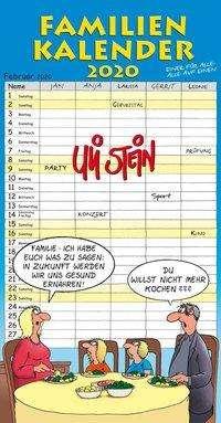 Uli Stein: Uli Stein Familienkalender 2020, Diverse