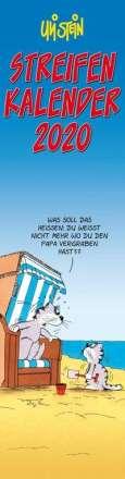 Uli Stein: Uli Stein Streifenkalender 2020, Diverse