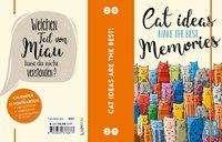 Dorthe Landschulz: Cat ideas make the best memories 2021: Buch- und Terminkalender, Buch