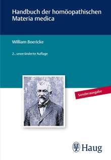 William Boericke: Handbuch der homöopathischen Materia Medica, Buch