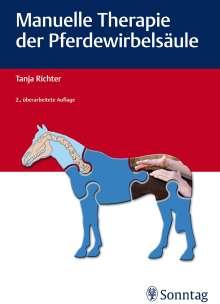 Tanja Richter: Manuelle Therapie der Pferdewirbelsäule, Buch