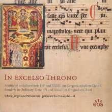"Gregorianischer Choral  ""In Excelso Throno"", CD"