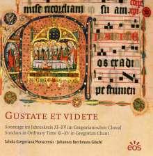 """Gregorianischer Choral  """"Gustate Et Videte"""", CD"""
