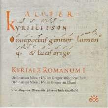 Kyriale Romanum I, CD